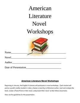 American Literature Novel Workshops Unit