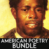 American Literature Poetry Unit: Poetry Activities, Poetry Writing, & Analysis