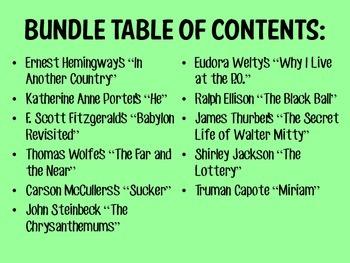American Literature Reading Guide Bundle (1920s-1940s)