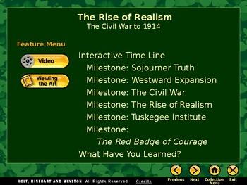 American Literature Realsm PowerPoint