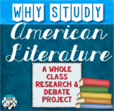 American Literature Research and Debate Project