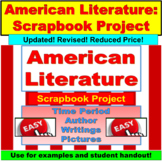 American Literature: Scrapbook Project