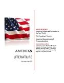 American Literature Semester I