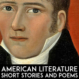 American Literature Short Story Units & Poetry Unit Plans | High School