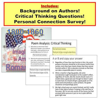 American Literature BUNDLE: Paperless Lessons