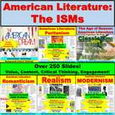 American Literature BUNDLE: Literary Movements