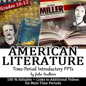 American Literature Time Period Introductory PowerPoints