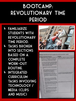 American Literature Time Period - Revolutionary Bootcamp