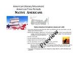 American Literature Time Periods- Native American