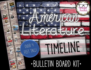American Literature Timeline Bulletin Board Kit