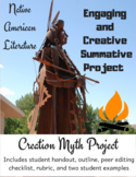 American Literature: Native American Literature Creation M