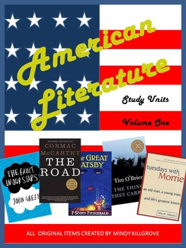 American Literature: Volume One: A Collection of Novel Study Units