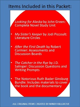 American Literature: Volume Two: A Collection of Novel Study Units