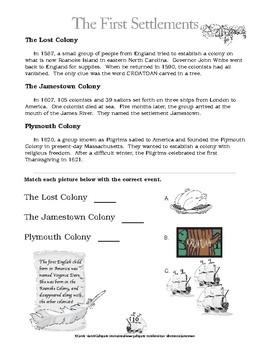 American Milestones: Jamestown America's First Permanent English Settlement