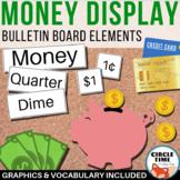 Classroom Economy Bulletin Board Money Vocabulary, America