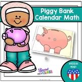 American Piggy Bank Calendar Math