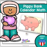 American Piggy Bank Calendar Math