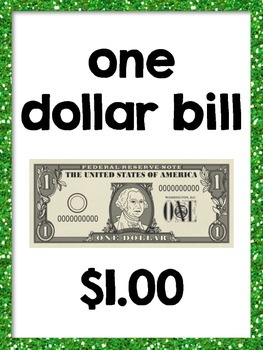 Money Posters (Coins and Bills)