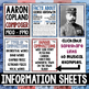 Composer of the Month- American Composers Bulletin Board Pack Bundle