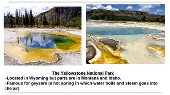 American Natural Landmark Presentation