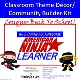 American Ninja Warrior Class Theme, Character, Community B