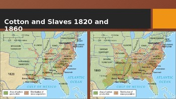 American Pageant Ch 16 PowerPoint - The South & Slavery