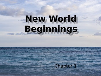 American Pageant Chapter 1 - New World Beginnings