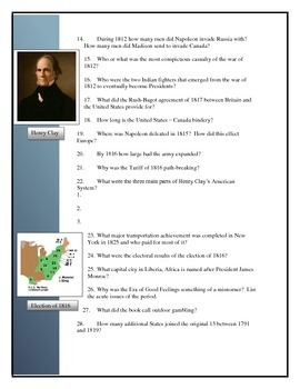 American Pageant Chapter 12 Reading questions