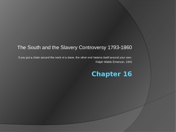 American Pageant Chapter 16 PowerPoint