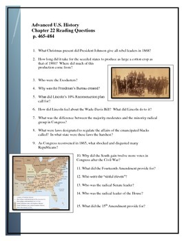American Pageant Chapter 22 reading questions