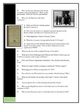 American Pageant Chapter 30 textbook questions