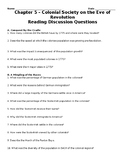 American Pageant Chapter 5 Reading Discussion Questions