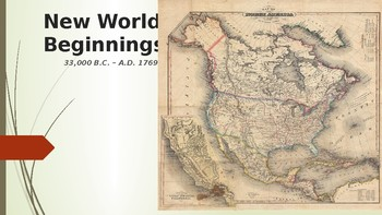 American Pageant PPT - CH 1 New World Beginnings