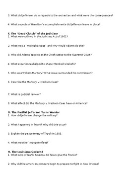 American Pageant Reading Discussion Questions Chapter 11