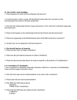 American Pageant Reading Discussion Questions Chapter 9