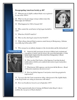 American Pageant reading questions chaper 37