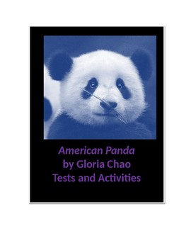 American Panda by Gloria Chao Tests and Activities