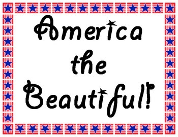 America the Beautiful!