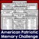 American Patriotic Memory Challenge