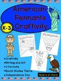 American Pennants Craftivity K-3