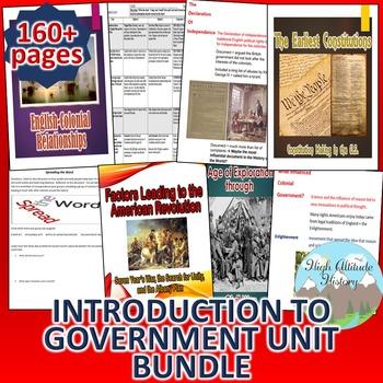 Introduction to Government *Unit Bundle*
