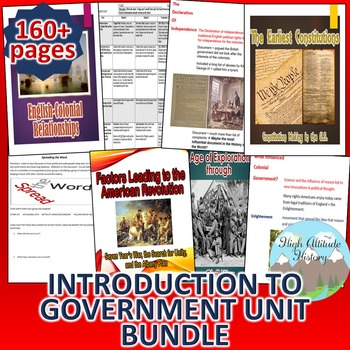 Introduction to Government *Unit Bundle*