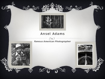 American Photographer Ansel Adams for kids