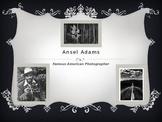 American Photographer Ansel Adams for kids