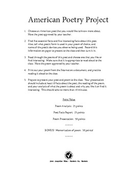 American Poetry Project