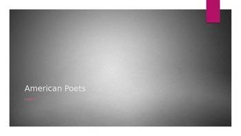 American Poets PowerPoint