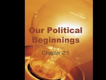 American Political Beginnings
