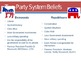 American Politics-2 Party System
