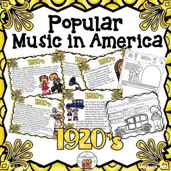 American Popular Music - The 1920's Decade