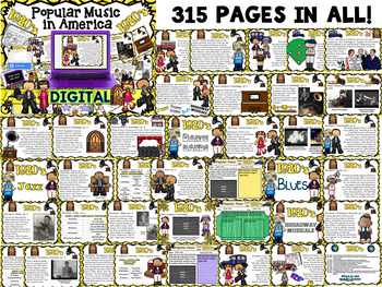American Popular Music - The 1920's Decade (Digital Version)